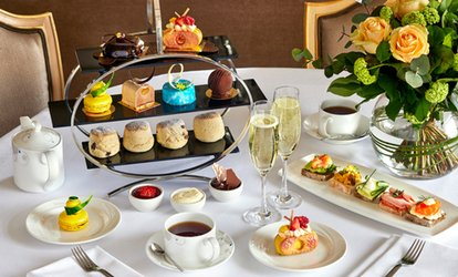5* Chocoholics' Afternoon Tea with Optional Champagne for Two at Podium Restaurant and Bar (Up to 50% Off)