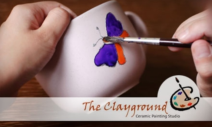 The Clayground Ceramic Painting Studio   - Lake Bonavista: $15 for $30 Worth of Ceramics Painting at The Clayground Ceramic Painting Studio