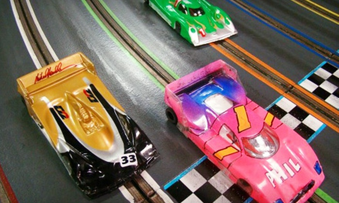 ASR Indoor Motor Sports Raceway - Longwood: Slot-Car-Racing Outing for One or Four People at ASR Indoor Motor Sports Raceway in Longwood