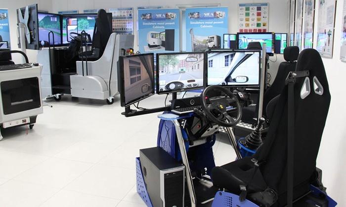 15, 30 o 60 minuti di esperienza con simulatore virtuale di guida per una o 2 persone con VR Zone Firenze