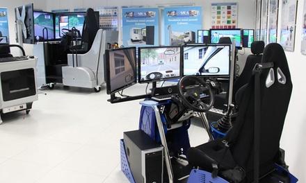 Fino a un'ora di guida con simulatore virtuale