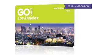 All-Inclusive Pass to Los Angeles Attractions  at Go City Card, plus 9.0% Cash Back from Ebates.