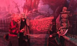 """Museo de Cera: Entrada de niño o adulto para el Museo de Cera """"Especial Halloween"""" del 27 de octubre al 1 de noviembre desde 6 €"""