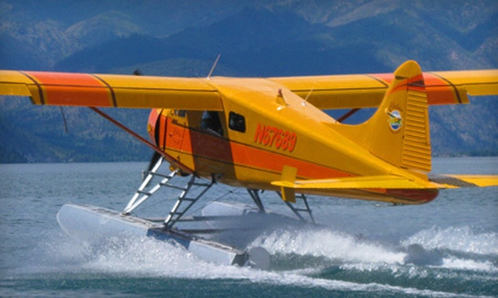 Chelan Seaplanes - Chelan: Scenic Roundtrip Flight and Wine Tasting at Rio Vista Wines for One or Six from Chelan Seaplanes (40% Off)