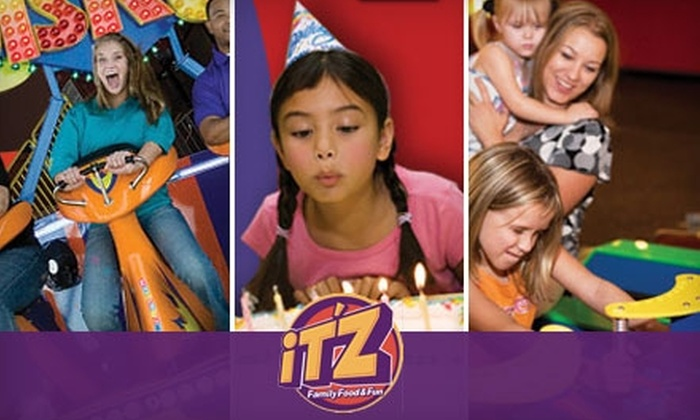 iT'Z Family Food & Fun - Montgomery Plaza: $20 for a Day of Unlimited Rides, Buffet, and Beverages, Plus One Hour of Video Game Play, at iT'Z Family Food & Fun (Up to $104 Value)