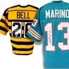 NFL Autographed Custom Football Jerseys