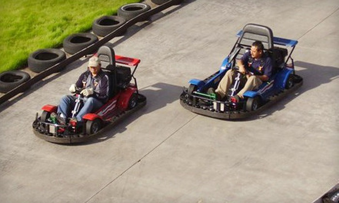 Camelot Park - Riviera/Westchester: $6 for Two Thunder Road Go-Kart Rides at Camelot Park ($13.50 Value)