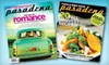 """Pasadena Magazine"" - Pasadena: $14 for a One-Year Subscription ($29.95 Value) or $24 for a Two-Year Subscription ($49.95 Value) to ""Pasadena Magazine"""