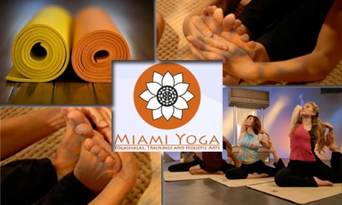Miami Yogashala - City Center: $40 for Five Yoga Classes at Miami Yogashala ($85 Value). Buy Here for South Beach Location. See Below for Additional Locations.