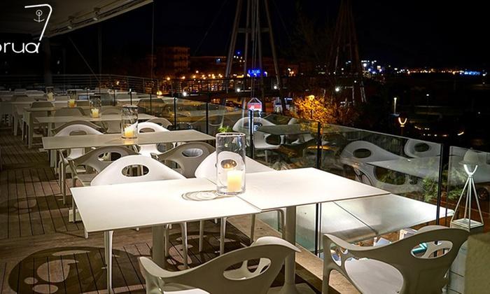 Menu gourmet di pesce vista mare ristorante la prua for Ristorante la vista