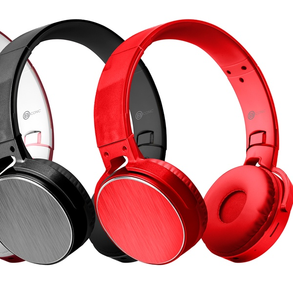 2e1d000b37d Up To 78% Off on On-Ear Stereo Headphones w/ Mic | Groupon Goods