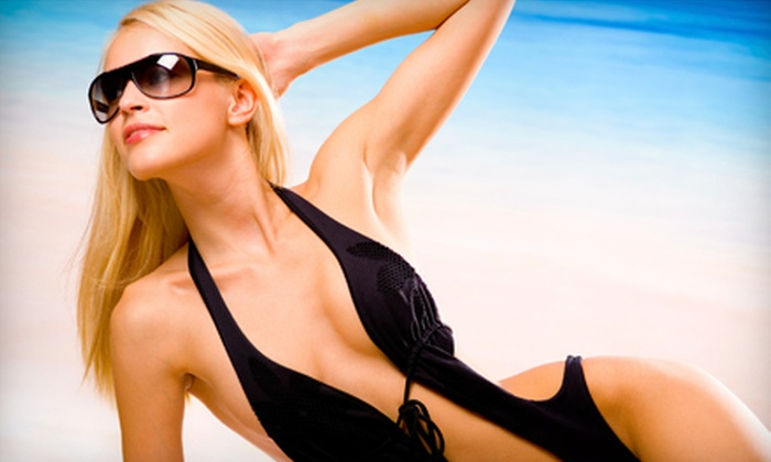 Salas Sunless - University Park: Full-Body Airbrush Tan at Salas Sunless. Choose Between Two Locations.