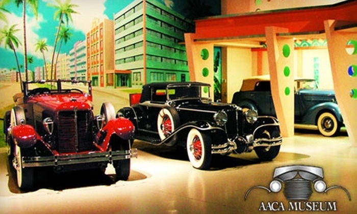Antique Auto Museum at Hershey - South Hanover: $20 for Four Tickets to Antique Automobile Club of America Museum at Hershey (Up to $40 Value)