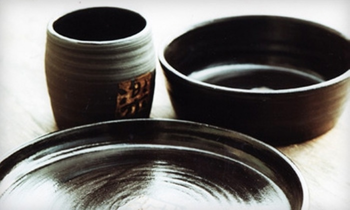 Akiko's Pottery - Highline: $20 for an Introduction to Wheel Throwing Class at Akiko's Pottery ($45 Value)