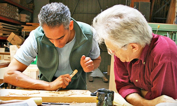 Calvo Studio - East Gloucester: Introductory Woodcarving Seminar for One or Two at Calvo Studio in Gloucester (Up to 63% Off)