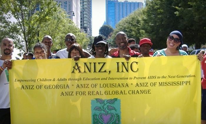 Aniz, Inc.: Donate $5 to Provide HIV/AIDS Testing Kits at Aniz, Inc.