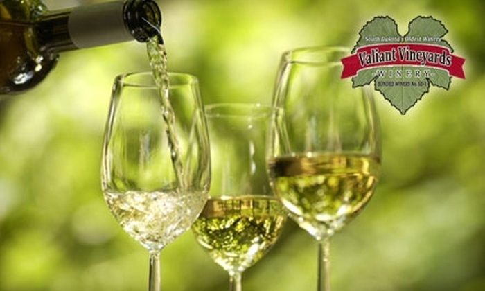 Great Dakota Wine Festival - Spirit Mound: $15 for Two Tickets to the Great Dakota Wine Festival at Valiant Vineyards on Saturday, August 28 and Sunday, August 29 ($30 Value)