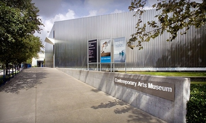 Contemporary Arts Museum Houston - The Museum District: Individual or Household Membership to Contemporary Arts Museum Houston (Up to 53% Off)