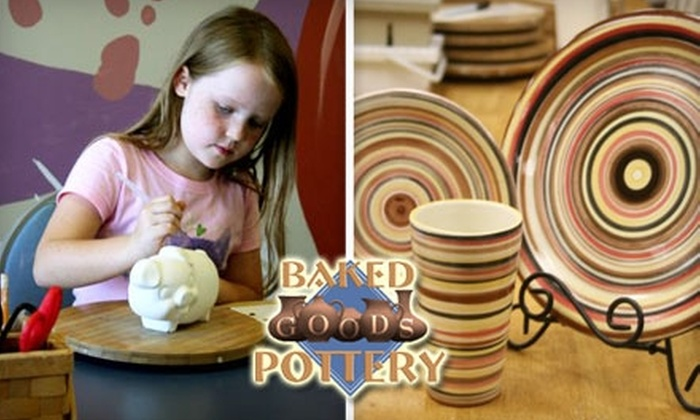 Baked Goods Pottery - Sappington: $10 for $25 Worth of Paint-Your-Own Pottery at Baked Goods Pottery
