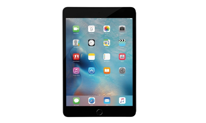 Outstanding Apple Ipad Mini 4 With Retina Display Wifi Tablet Refurbished A Grade With Mfi Certified Cable And Power Adapter Download Free Architecture Designs Rallybritishbridgeorg