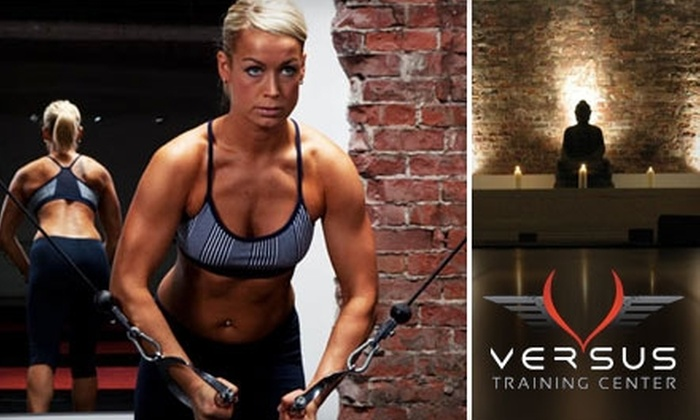 Versus Training Center - Downtown Vancouver: $29 for 30 Days of Unlimited Fitness Classes at Versus Training Center ($180 Value)