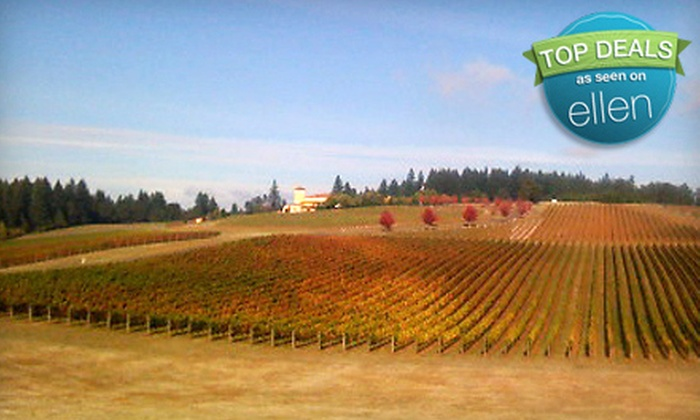 Fiesta Limousine - Cedar Hills - Cedar Mill: Six-Hour Winery Tour with Snacks and Nonalcoholic Drinks for One or Two from Fiesta Limousine (Up to 67% Off)