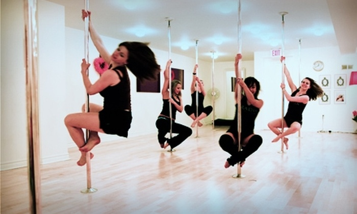 Aradia Fitness - Cary: $15 for One Introductory Pole-Dance Class or Two Group Fitness Classes at Aradia Fitness in Cary ($30 Value)