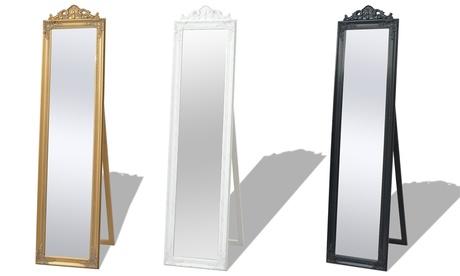 Espejos de pie estilo barroco vidaXL Oferta en Groupon