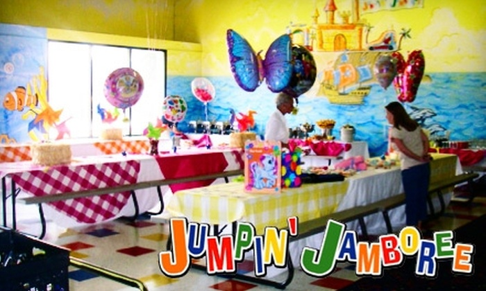 Jumpin' Jamboree - Multiple Locations: $20 for 10-Visit Pass to Jumpin' Jamboree in Tucker ($50 Value)