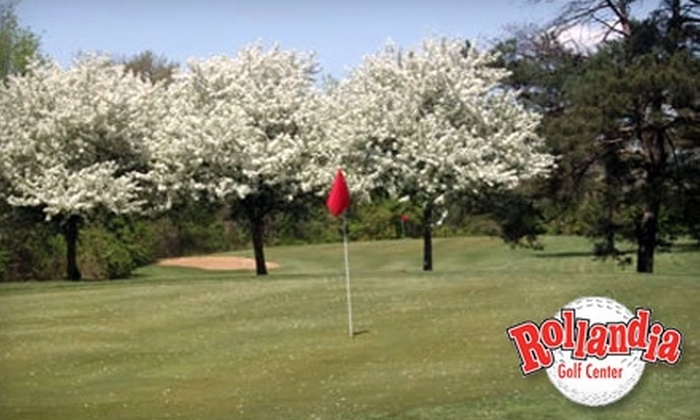 Rollandia Golf Center - Sugarcreek: Greens Fee or Bucket of Golf Balls at Rollandia Golf Center. Choose from Four Options.