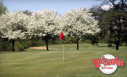 Rollandia Golf Center: 1 Greens Fee for Rollandia's 18-Hole, Par-3 Golf Course - Rollandia Golf Center in Dayton