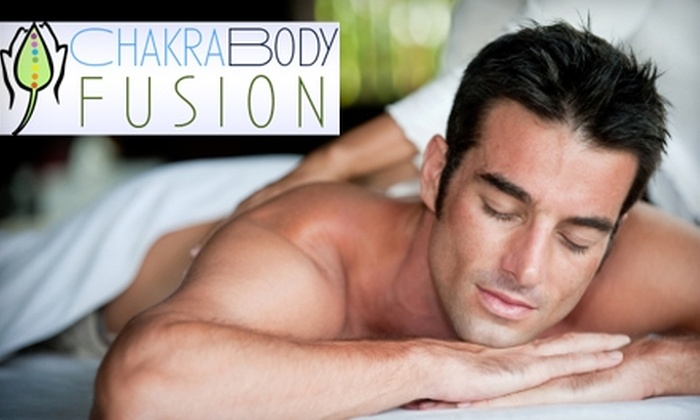 ChakraBody Fusion - Longfellow: $40 for a Rejuvenating Massage at ChakraBody Fusion ($80 Value)