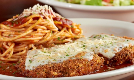 $10 for $20 Worth of Italian Food at Carino's Italian
