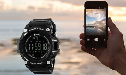 $29 for Bluetooth Digital Smartwatch with Health FitnesTracker Compatible with Android and iOS