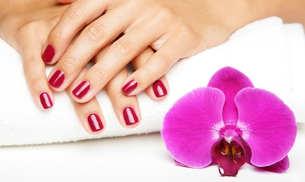 Classic Mani-Pedi, or Gel Manicure and Spa Pedicure at Salon Eden (53% Off)