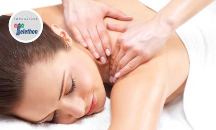 Uno o 3 massaggi da 45 minuti