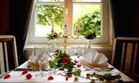 4-Gänge-Gourmet-Menü mit Fleisch, Fisch oder vegetarisch inkl. Aperitif und Flasche Wasser für 2 Personen im Witthüs