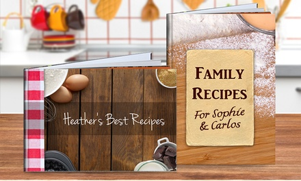 for a Personalised Recipe Book Don't Pay up to $89.95