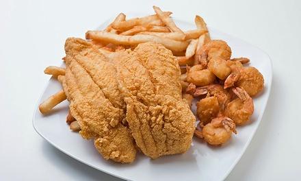 Nu wave fish chicken up to 42 off lansing mi groupon for Fish fry lansing