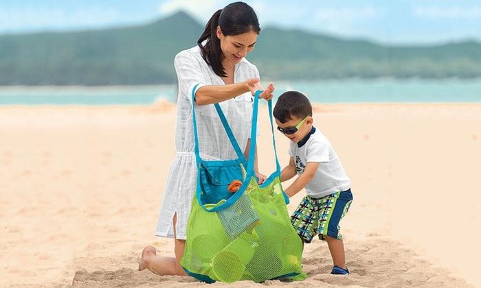 Oversized Mesh Beach Bag