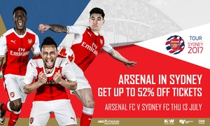 Arsenal FC vs. Sydney FC: Arsenal FC v Sydney FC Ticket Offer -  Starting from $19 at ANZ Stadium, 13 July 2017