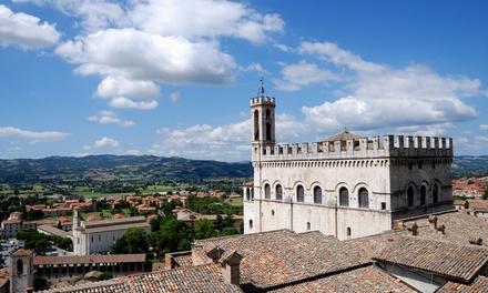 Gubbio: tweepersoonskamer voor 2 personen met ontbijt en naar keuze 1x diner in Hotel Villa Montegranelli