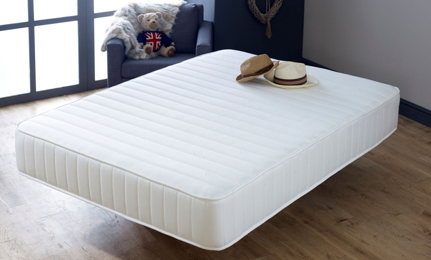 Memory Fibre Open Coil Micro Quilted Mattress