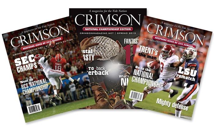 "Crimson Magazine: ""Crimson Magazine"" Subscriptions (Up to 58% Off). Three Options Available."