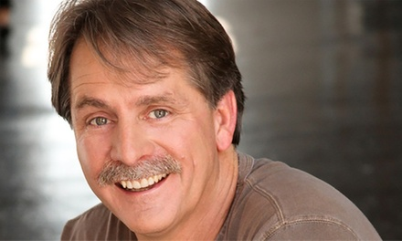 Jeff Foxworthy on Saturday, October 6, at 8 p.m.