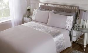 Parures de lit à bordures velours