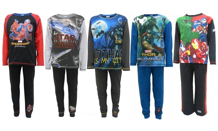 93f033bb3fd Boy's Superhero Pyjamas   Groupon Goods