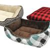 Izod Plush Gusset or Cuddler Pet Bed
