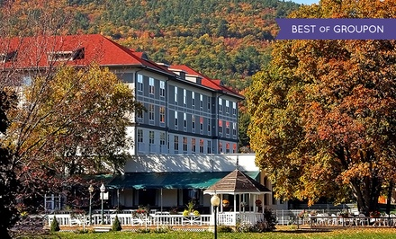 Stay at Fort William Henry Hotel in Lake George, NY. Dates into June.