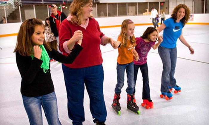 Austin Sports Arena - Taylor: Roller-Skating Package for Two or Four at Austin Sports Arena (Up to 58% Off)